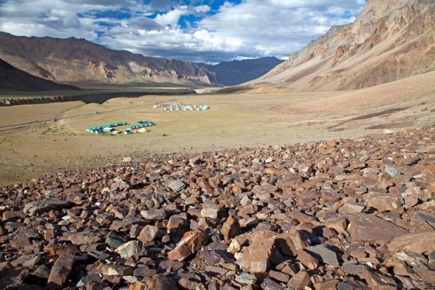 Camp at Sarchu