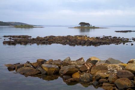Calm waters on the Tasman Peninsula, Tasmania
